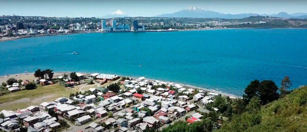 Imagen panorámica de Puerto Montt